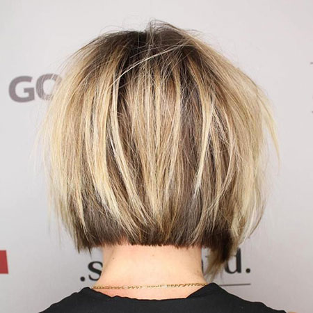 Blonde Bob Hairstyles, Blonde Hairstyles, Balayage, Short Hairstyles, Layered, Fine