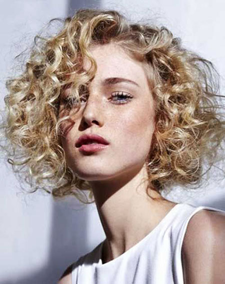 50 Nice Short Blonde Curly Hairstyles 2017 – 2018 – Blonde ...