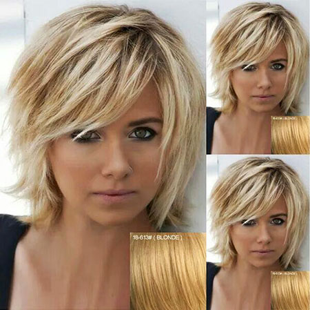 Short Hairstyles, Blonde Bob Hairstyles, Smooth, Painting