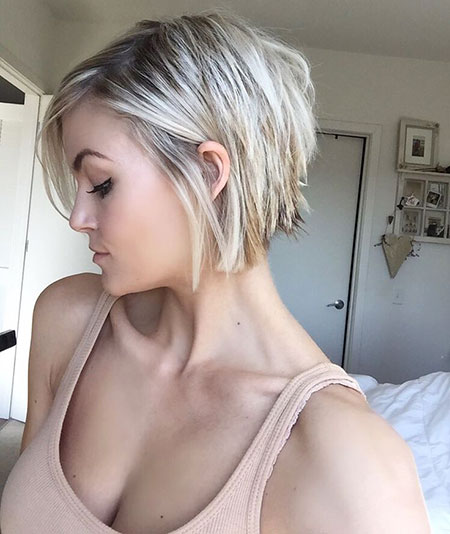 Short Hairstyles, Pixie Cut, Waves, Perm, Edgy, Blonde Hairstyles