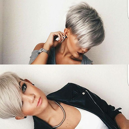 Short Hairstyles, Undercut, Trendy, Shades, Pixie Cut, Lob
