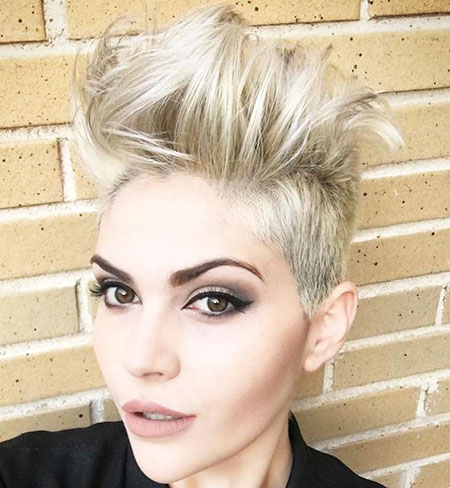 Undercut, Punk, Pixie Cut, Kapsels, Blonde Hairstyles, Bleach
