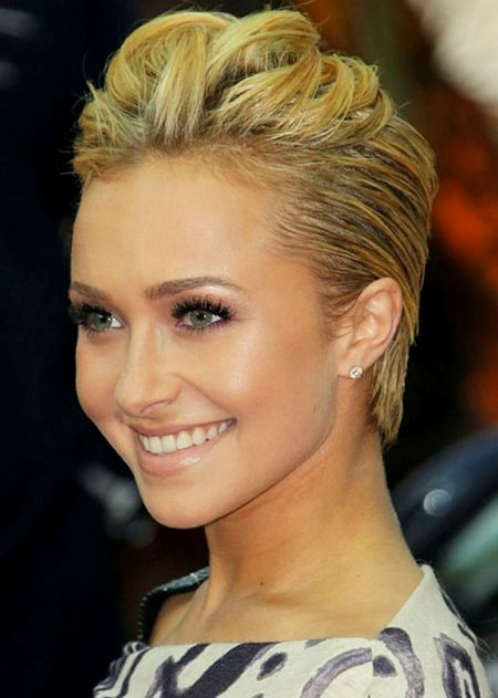 Short Hairstyles, Women, Pixie Cut, Theron, Over, Haircut, formal