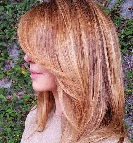 Blonde Hairstyles, Highlights, Gold, Strawberry, Rose, Women