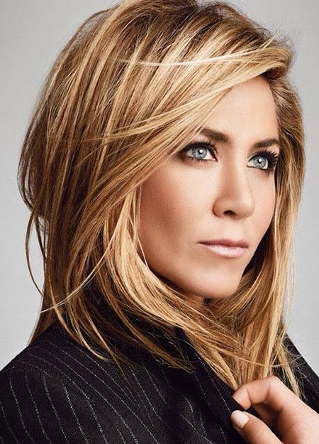 Blonde Hairstyles, Highlights, Aniston, Trendy, Jennifer