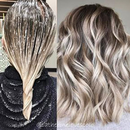 Blonde, Balayage, Ash, Vibrant, Highlights, Golden, Colour