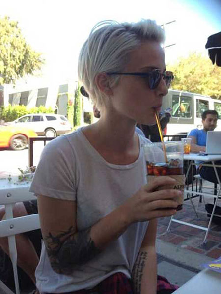 Pixie Cut, Blonde Hairstyles, Short Hairstyles, Crazy, Blond, 2017