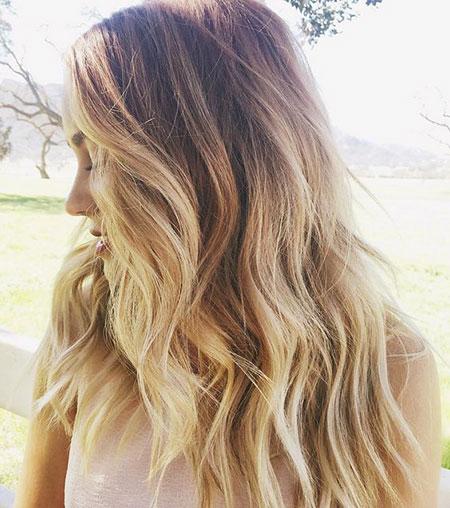 Blonde Balayage Tips Ombre Laurenconrad Lauren Conrad