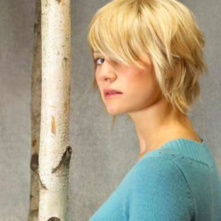 Short Hairstyles, Blonde Hairstyles, Women, Cute Hairstyles