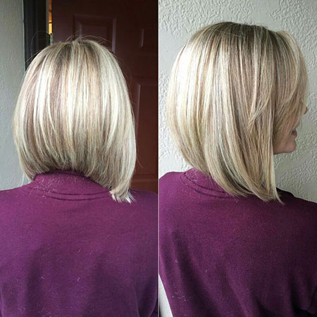 Blonde Bob Hairstyles, Blonde Hairstyles, Long, Shoulder, Purple, Pink