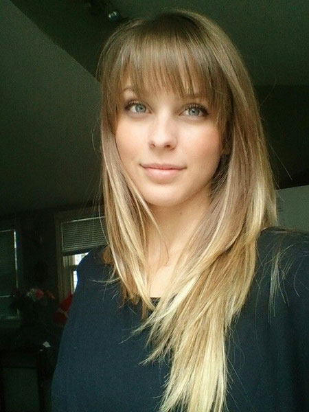 Bangs, Blonde, Ombre, witherspoon, Side, Reese, Long, Clip