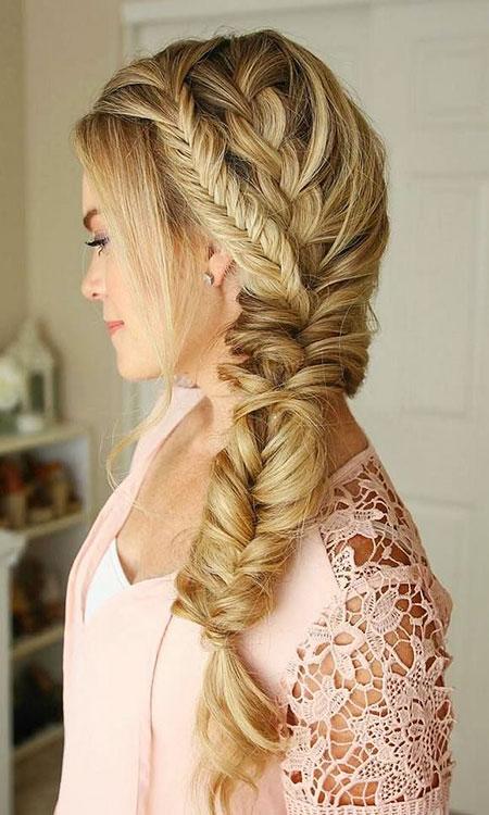 Braid Wedding Prom Long 2017 Trenza Trendy
