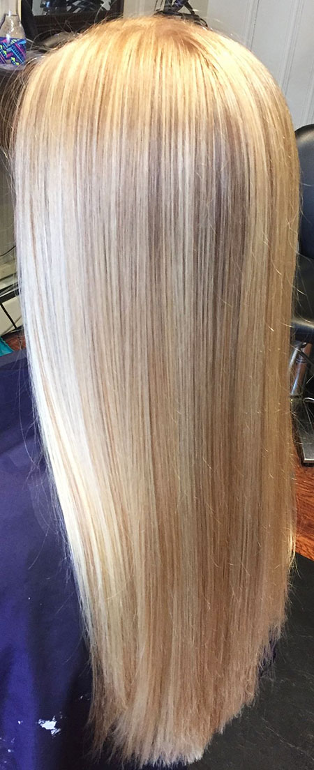 Blonde Highlights Light Strawberry Natural