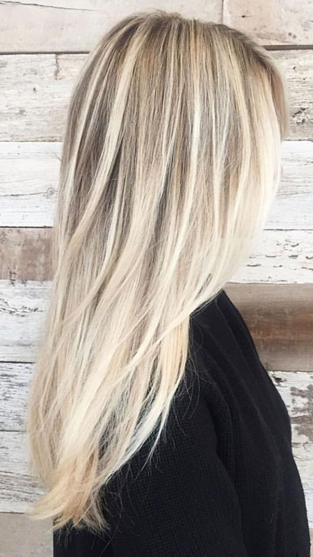 Blonde Balayage Frisyrer Colour Bright Baby