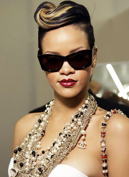 Indian, Bridal, Short Hairstyles, Rihanna, Bride, Wedding