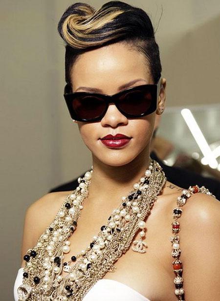 Indian, Bridal, Short Hairstyles, Rihanna, Bride, Wedding