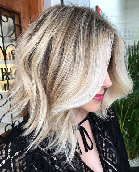 Blonde Hairstyles, Balayage, Blonde Bob Hairstyles, Wavy, Waves