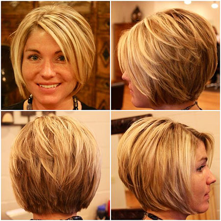 Blonde Bob Hairstyles, Short Hairstyles, View, South, Highlights