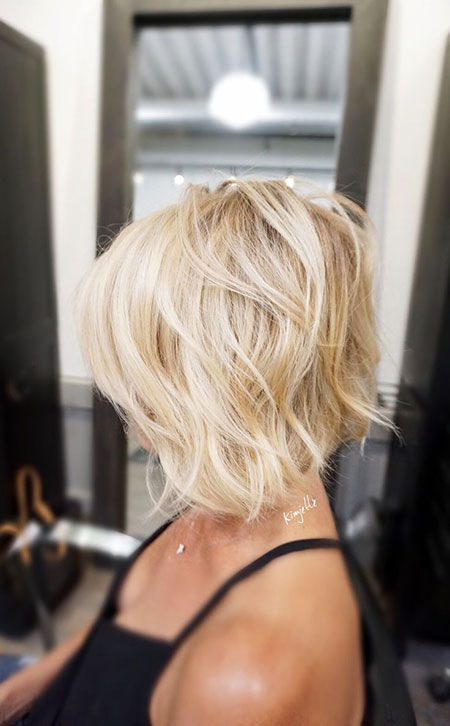 Blonde Hairstyles, Blonde Bob Hairstyles, Round, Lob, Faces, Face