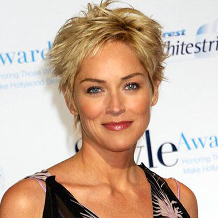 Short Hairstyles, Women, Styles, Stone, Sharon, Blonde Hairstyles