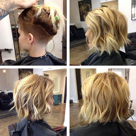 Short Hairstyles, Blonde Bob Hairstyles, Underneath