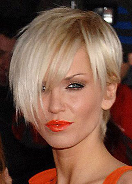 Short Hairstyles, Blonde Bob Hairstyles, Winter, Messy, Choppy