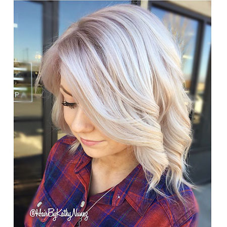 Blonde Hairstyles, Short Hairstyles, Highlights, Ombre, Line, Layered