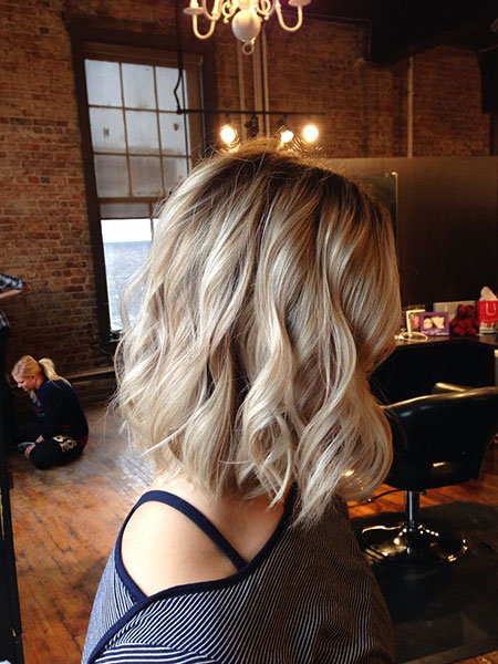 Blonde Hairstyles, Ombre, Balayage, Wavy, Waves, Texture
