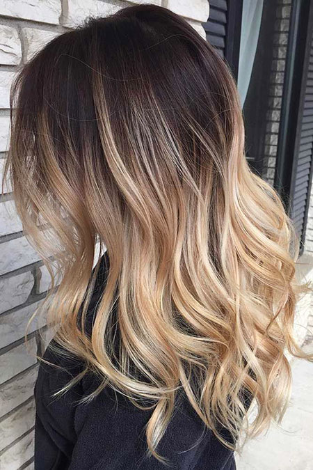 Blonde, Ombre, Balayage, without, Fun, Dark