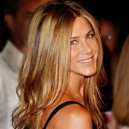 Jennifer, Aniston, Blonde, Honey, Colour