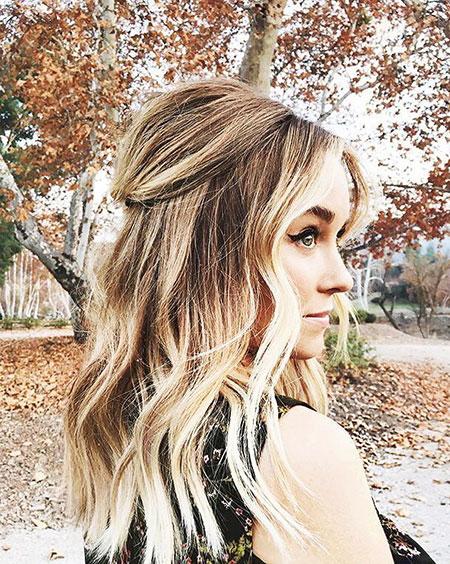 Up Lauren Half Conrad Wedding Laurenconrad Braided Blonde