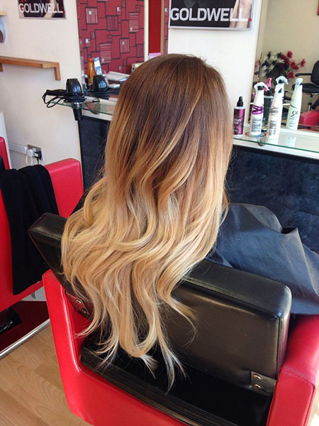 Ombre Blonde Hair Light