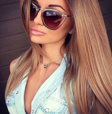 Hair Color Blonde Caramel