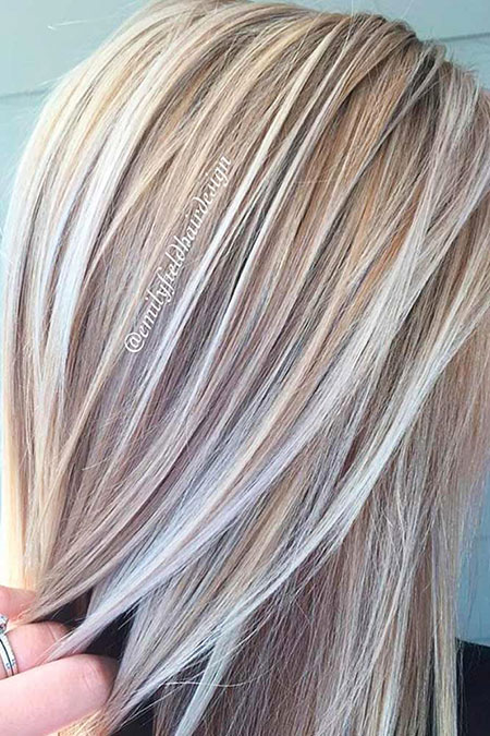 Blonde Hair Platinum Color