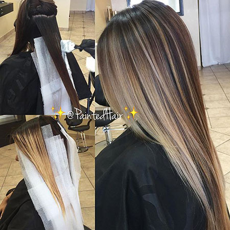 Blonde Hair Ash Ombre