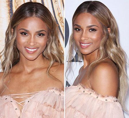 Hair Ciara Waves Blush