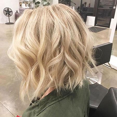 Blonde Medium Hair Hough