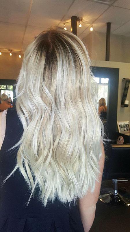 Blonde Platinum Hair Color