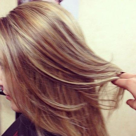 Blonde Hair Highlights Honey
