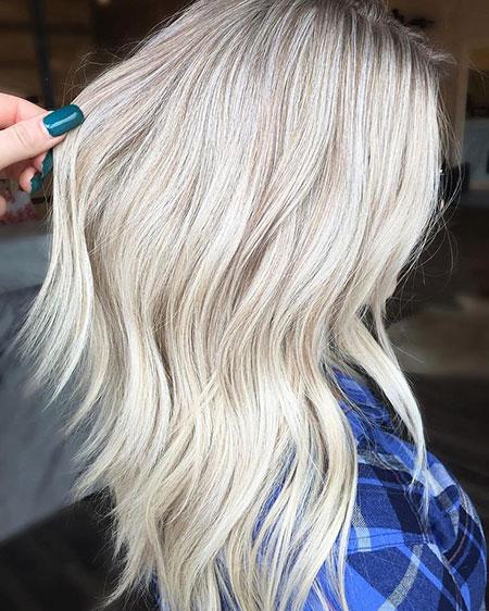 Blonde Hair Platinum Color