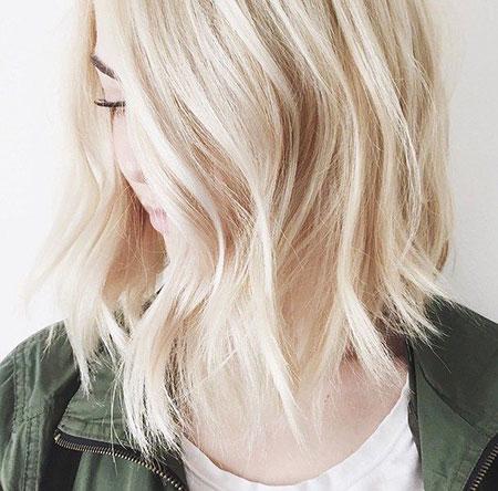 Blonde Hair Bob Bobs
