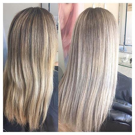 Blonde Hair Ash Shades