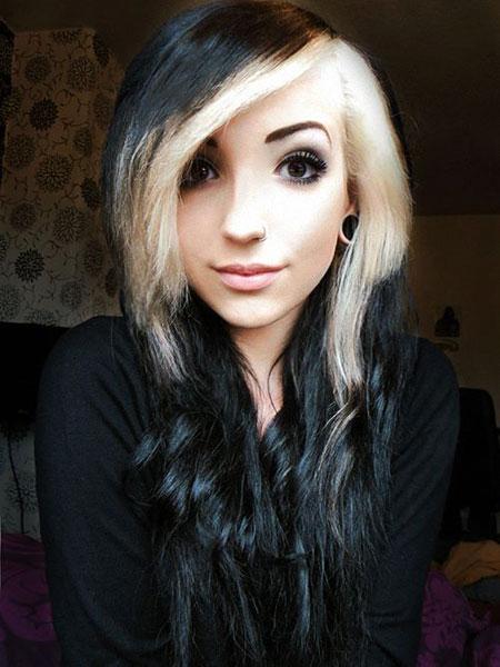 Black Blonde Hair Hairtyles