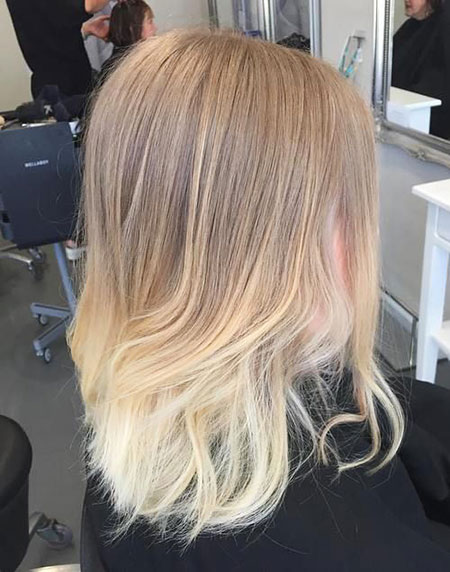 Ombre Blonde Hair Ash