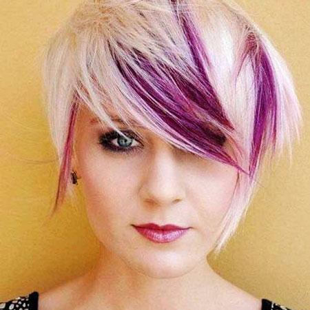 Purple Hair Hairtyles Fun