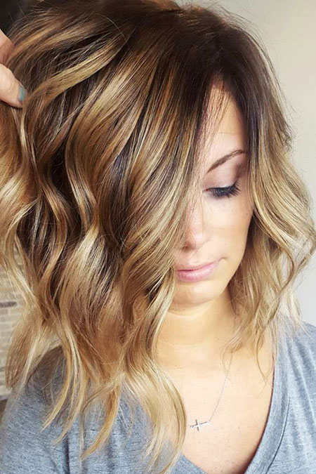 Balayage Color Brown Hair