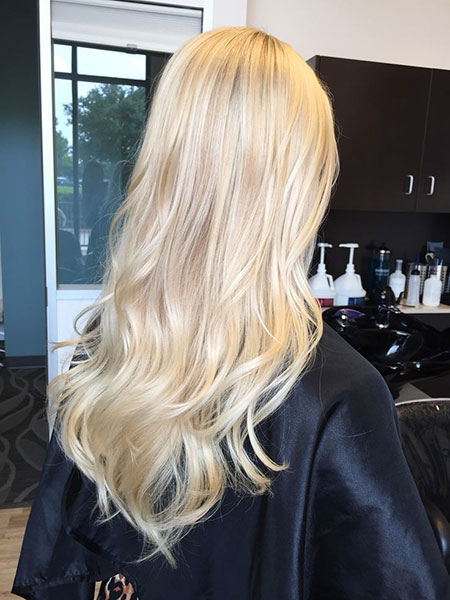 Blonde Hair Love Colors