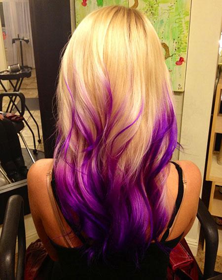 Hair Purple Ombre Fun