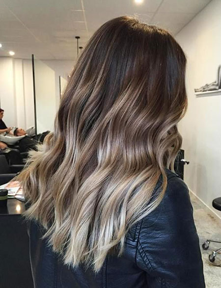 Hair Blonde Balayage Ash