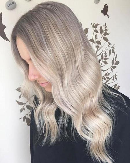 Blonde Hair Ash Color